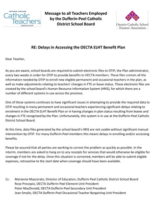 Joint-Memo-to-Dufferin-Peel-Teachers-re-Delays-in-Benefit-Administration-relating-to-IPPS