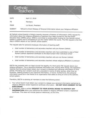 OECTA-letter-regarding-FOI-request